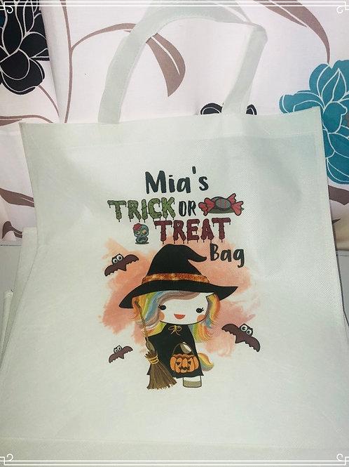 Unicorn Witch Halloween Bag