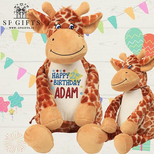 Birthday - Mumbles Giraffe