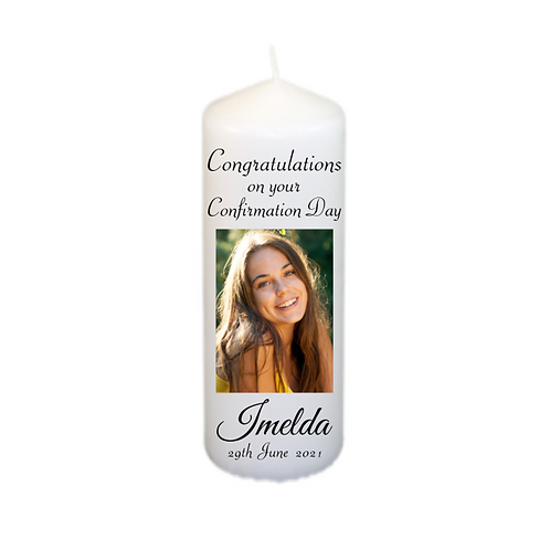 Photo Confirmation Candle