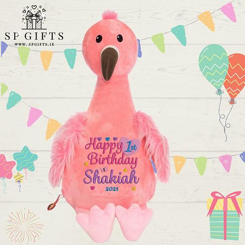 Birthday -Flamingo