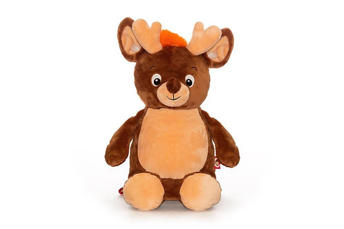 Personalised Reindeer Soft Toy - Cubbie