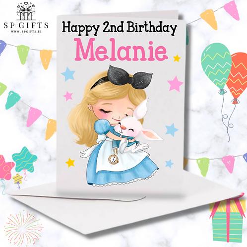 Princess G Birthday Card