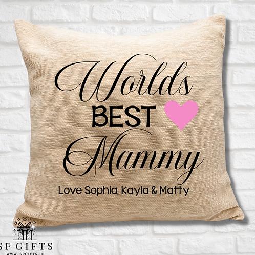 Worlds Best Mammy Cushion