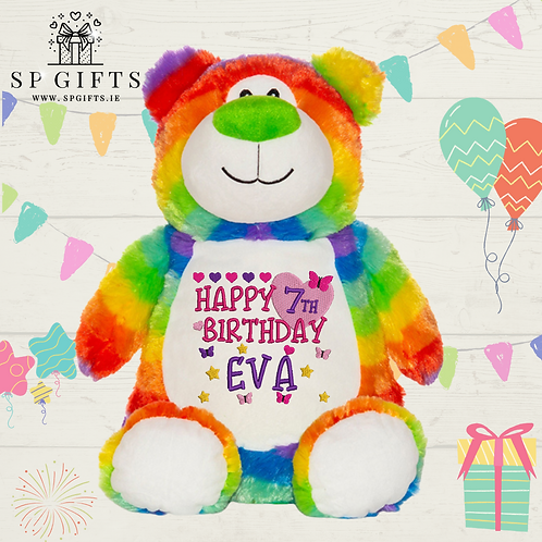 Birthday - Rainbow Bear