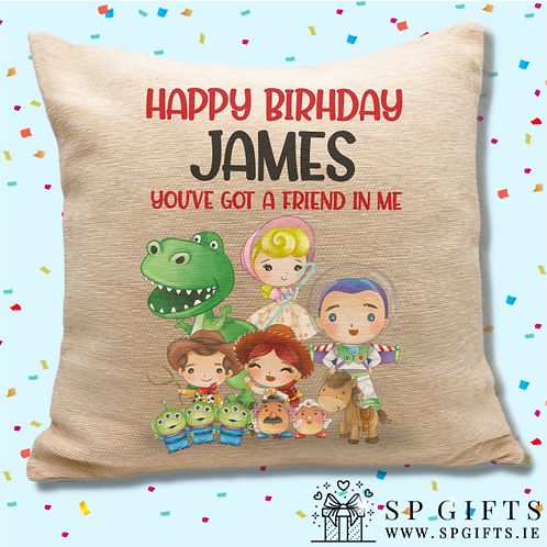 Toy Story Inspired Cushion