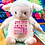 Thumbnail: Baby Birth Block Cubbie -Lamb