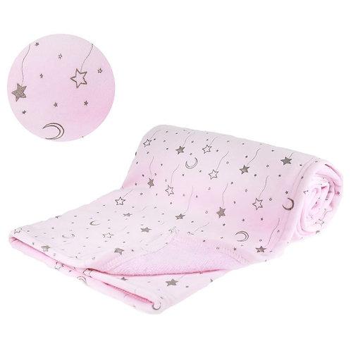Pink Mink Wrap Blanket
