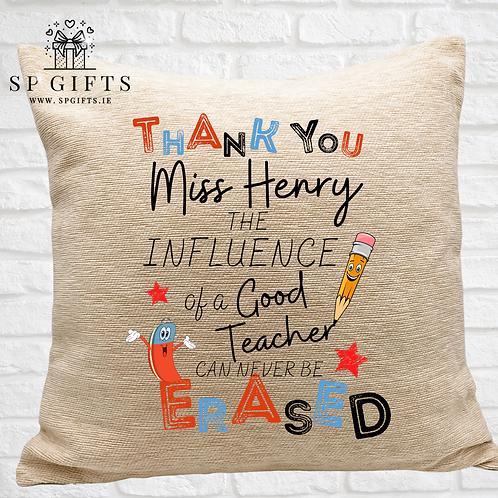 The Influence of a Good Teacher Luxury Cushion