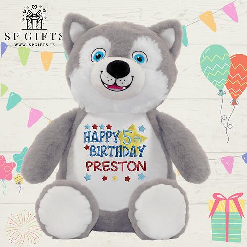 Birthday - Husky Dog