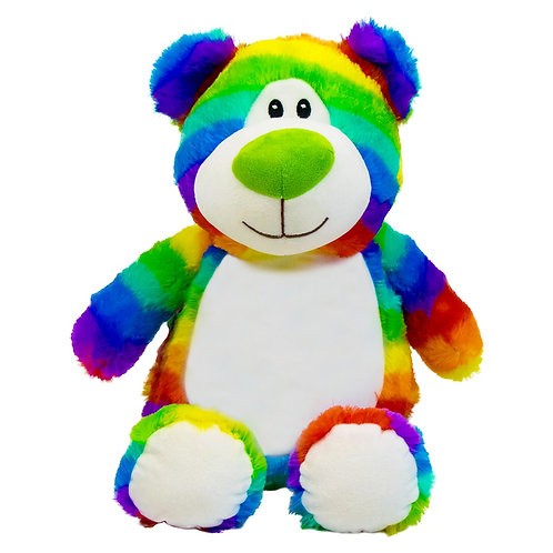 Personalised Rainbow Bear