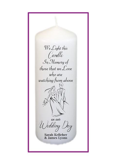 Simplicity Memorial Candle