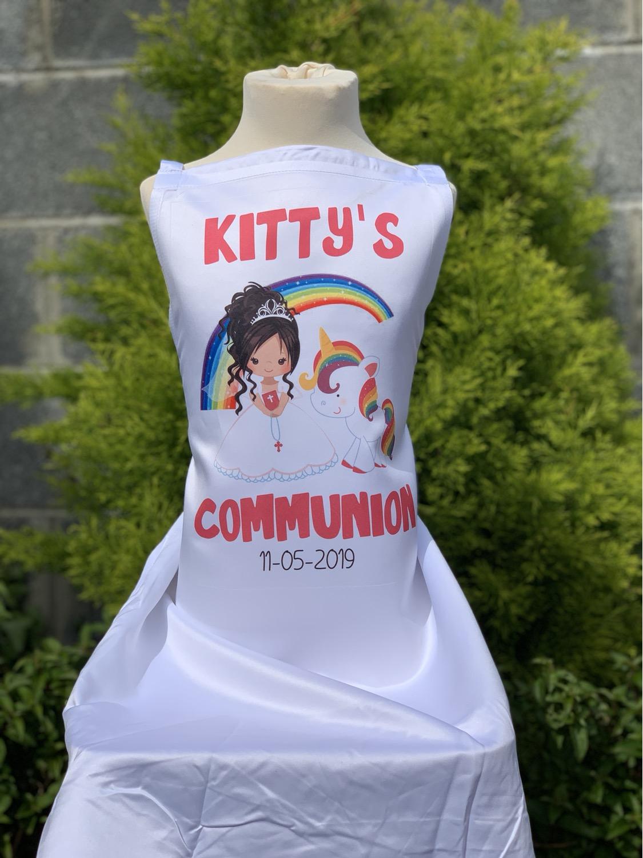 Unicorn Communion apron
