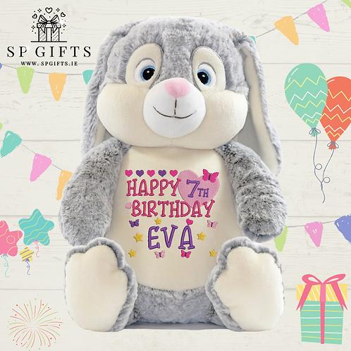 Birthday - Grey Clovis Hampton Bunny