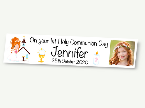 Girls Communion Banner
