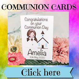 Cards - Communion