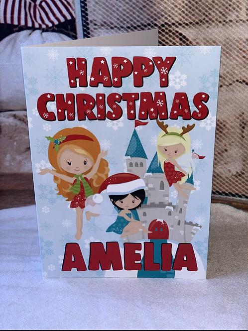 Fairies Christmas Card