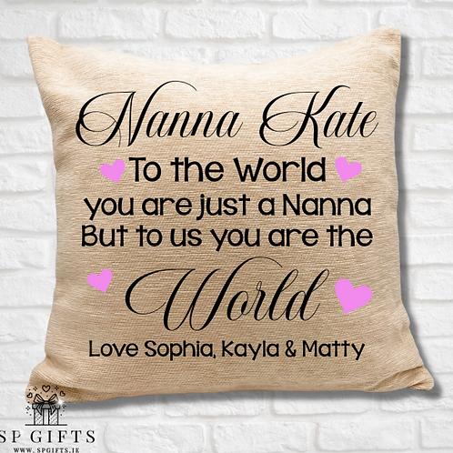 Nanna - To the world Cushion