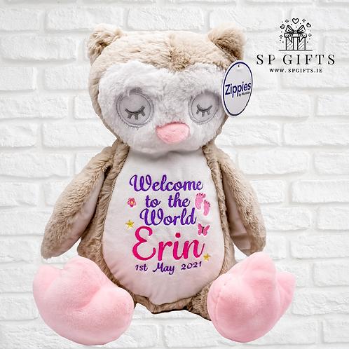 Welcome to the World - Sleepy Owl