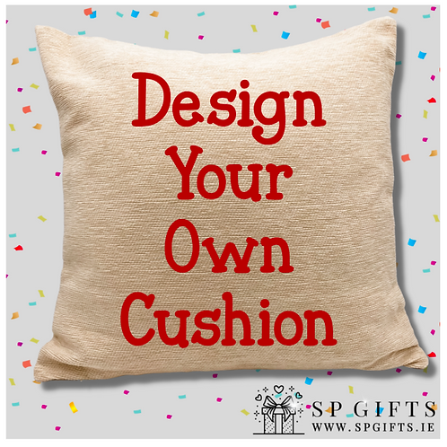 Design your own Personalised Cushion