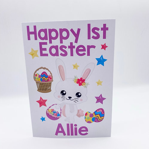 1st Easter Card