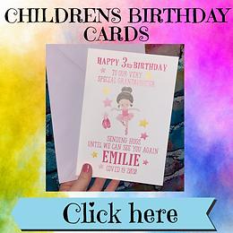 Cards - Childrens Birthday