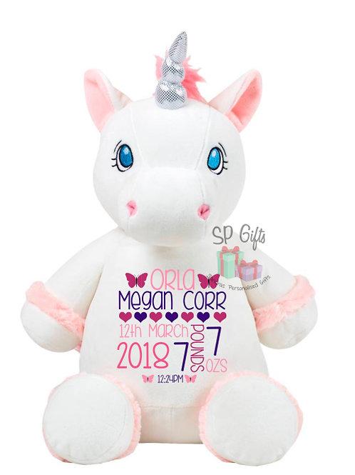 Starflower the white unicorn - Birth Block