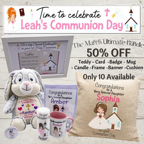 Communion/Confirmation Super March Special