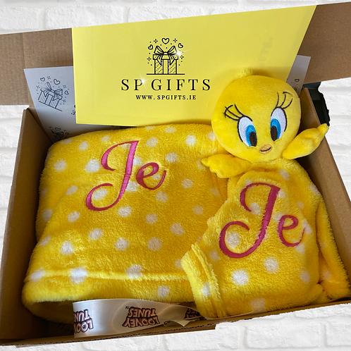 Looney Tunes Tweety Comforter & Blanket Delivery Box