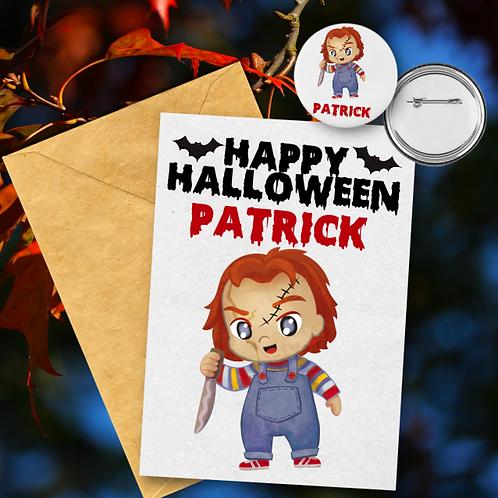 Chucky Card & Badge Set