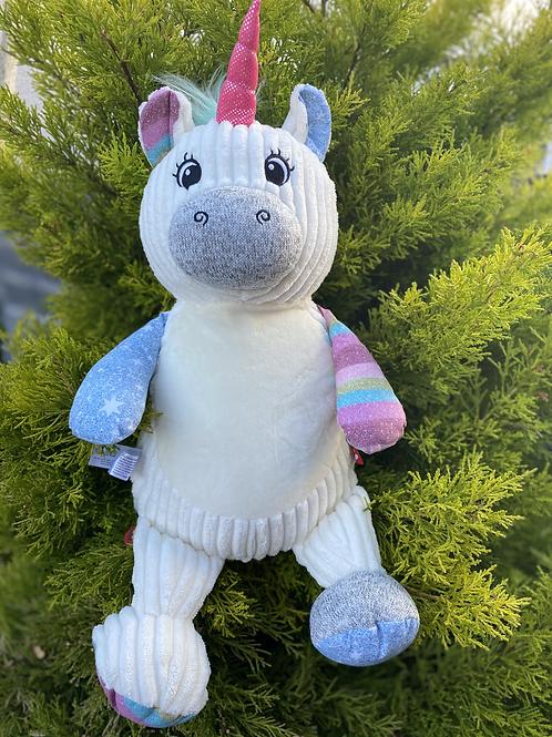 Personalised Cupcake Sensory Unicorn