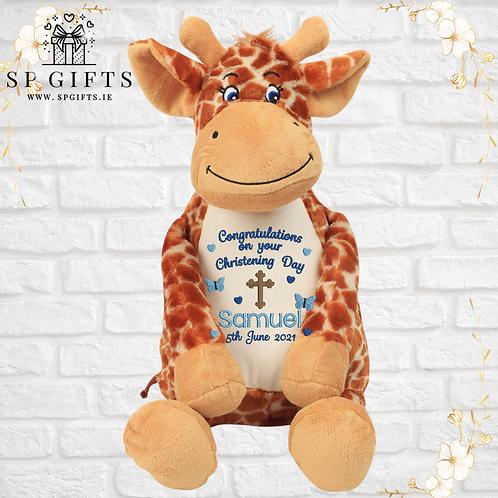 Christening Giraffe