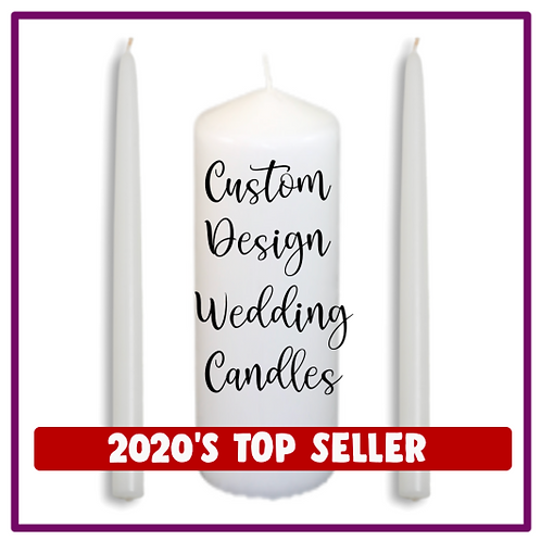 Design your own Unity Candle Set