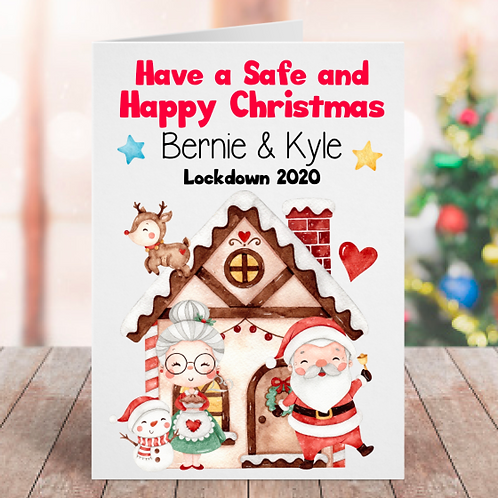Lockdown 2020 Christmas Card