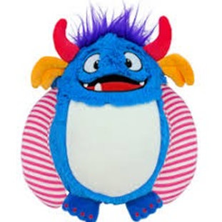 Personalised Blue Monster Soft Toy - Cubbie