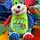 Thumbnail: Baby Birth Block Cubbie - Harlequin Dog