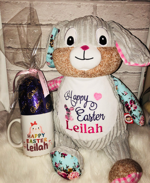 Easter bunny mug and egg sp gifts personalised gifts co dublin negle Images