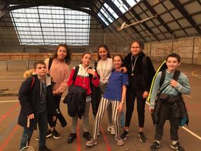 Compétition badminton