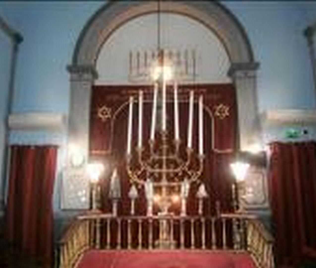 Synagogue Arcachon intérieur