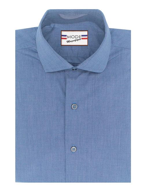 Blue Chambray 100% Cotton