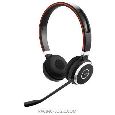 Jabra Evolve 75 (雙耳式) 配備 Link 370