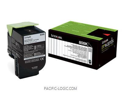 80C80K0 - 808K Black Return Toner Cartridge