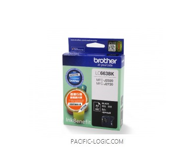 LC663BK - Brother Standard Ink