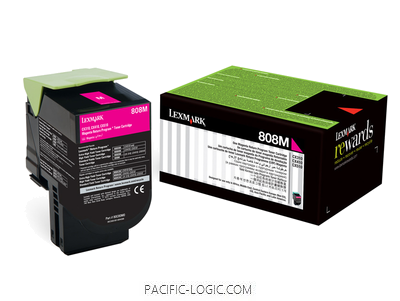 80C80M0 - 808M Magenta Return Toner Cartridge