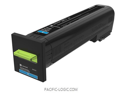 82K3HC0 - CX860 Cyan High Yield Return Program Toner Cartridge