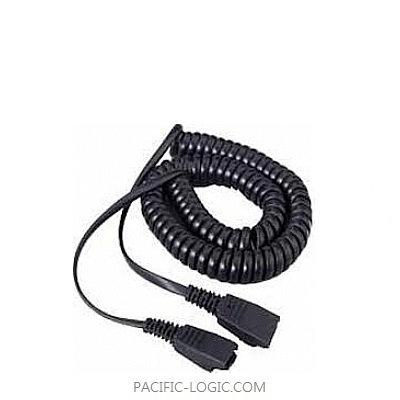 Cord – QD to QD extension cord, 2m coiled