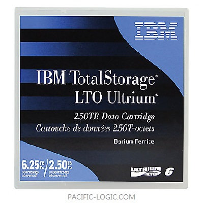 00V7590 - IBM LTO Ultrium 6 Data Cartridge