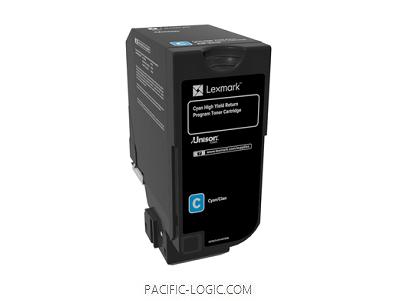 84C3HC0 - CX725 Cyan High Yield Return Program Toner Cartridge