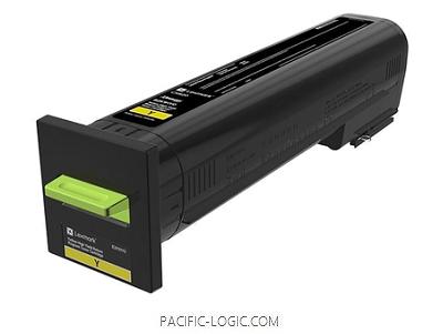 82K3XY0 - CX825/CX860 Yellow Extra High Yield Return Program Toner Cartridge