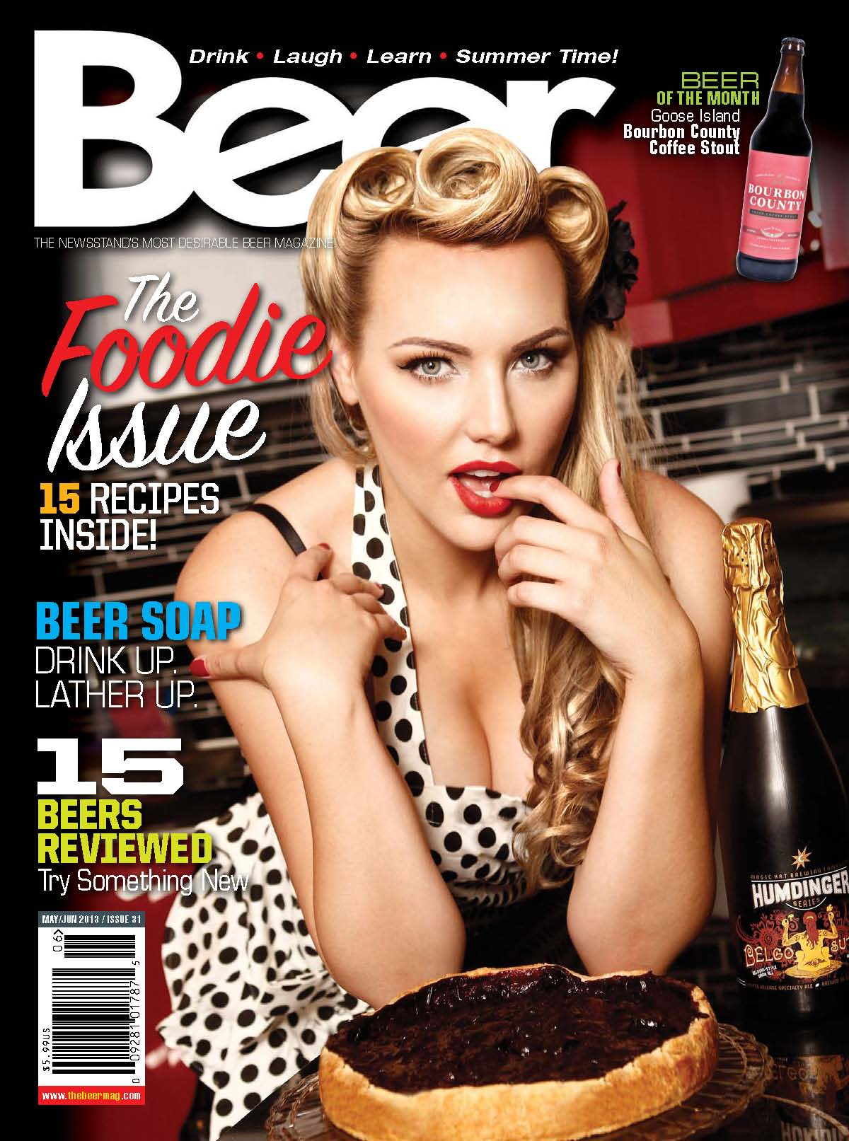 Beer Magazine cover