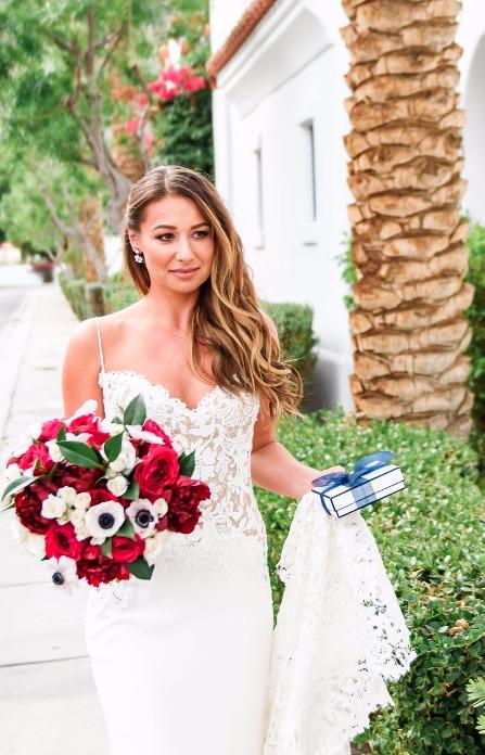 Brie Leach bridal makeup and hair